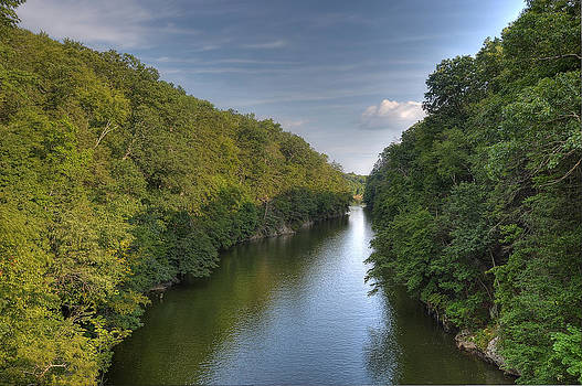 Housatonic River at Lover's Leap by David Clark