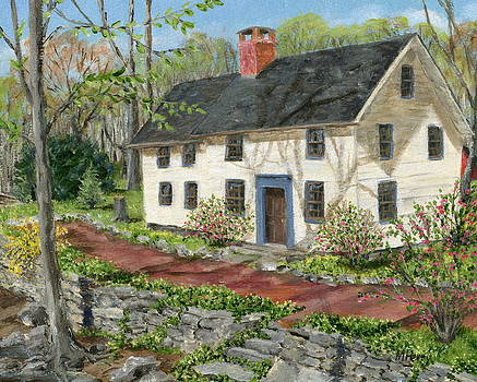 House in Carversville by Margie Perry