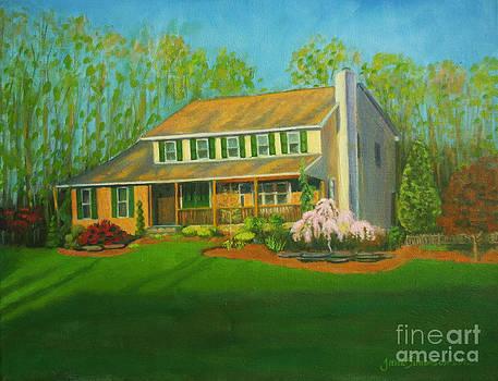 House Portrait by Jane  Simonson