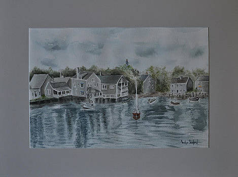 Houses Along the River by Guilford