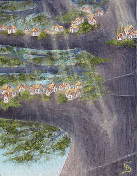 Houses in a Tree from Arboregal by Dumitru Sandru