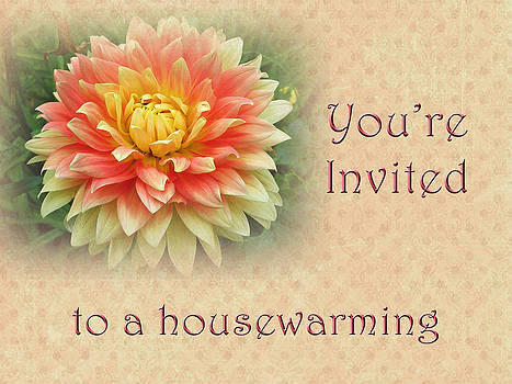 Mother Nature - Housewarming Invitation - Dahlia