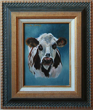 How now Normandy cow by Lucinda Coldrey