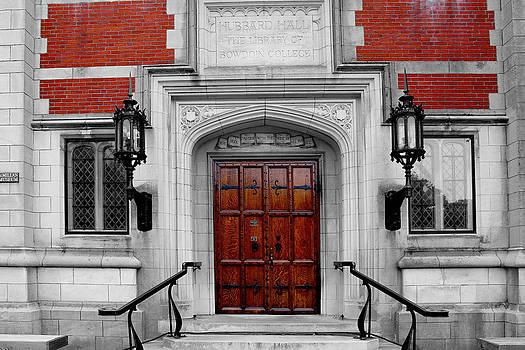 Hubbard Hall Doors CBW by Robbie Basquez