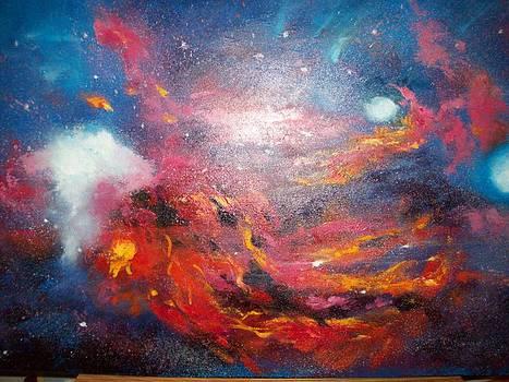 Hubble 2 by Merri Stevens