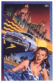 Garth Glazier - Hudson Hornet in Miami Beach