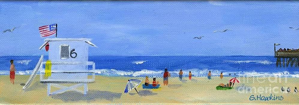 Hueneme Beach  by Sheryl Heatherly Hawkins