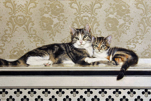 Hugs on the Heater by David Lyons
