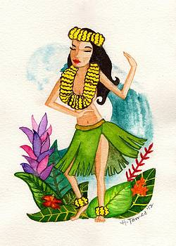 Hula Girl by Heather Torres