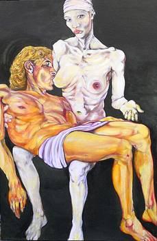 Humanitas  christi nutrit by Francesco Falcolini