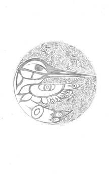 Humming Bird New Moon by Kali Kardsbykali