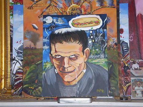 Hungry Frankenstein by Ricardo Colon