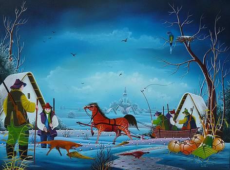 Hunters by Pavel Cicka