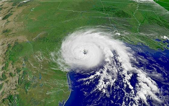 Padre Art - Hurricane Claudette Hits Texas