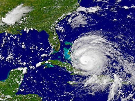 Padre Art - Hurricane Irene Near Cuba