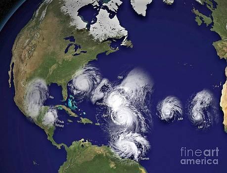 Padre Art - Hurricanes in 2010