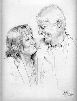 Husband And Wife by Gill Kaye