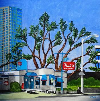 Hut's Hamburgers Austin Texas. 2012 by Manny Chapa