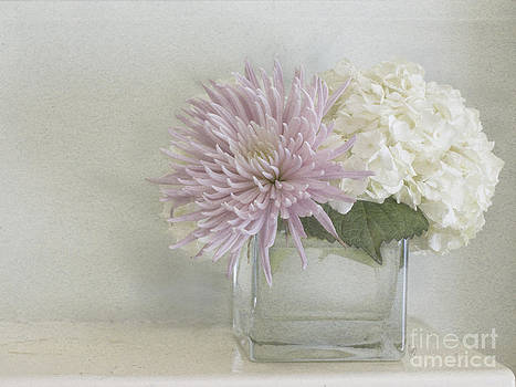 Hydrangea and mum by Cindy Garber Iverson