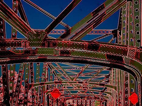 I 55 Bridge In Memphis by J R Seymour