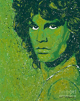 I Am The Lizard King by Chris Mackie