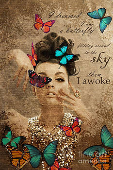 I dreamed I was a butterfly by Pia Vang