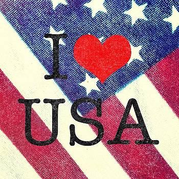 I Heart USA by Chris Fabregas