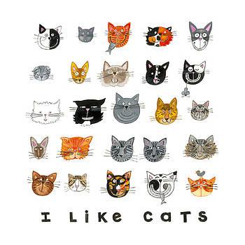 I Like Cats by Barbara Esposito