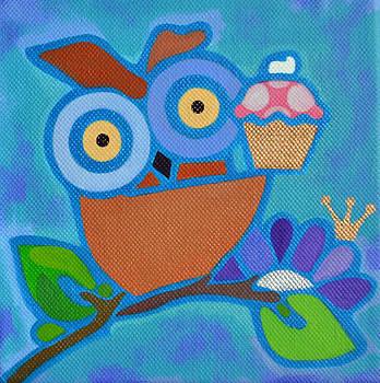 I Love Cupcakes by Jenny Valdez