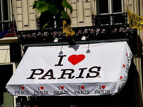I Love Paris by Carrie Putz
