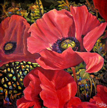 I Love Poppies 11 by Eileen  Fong