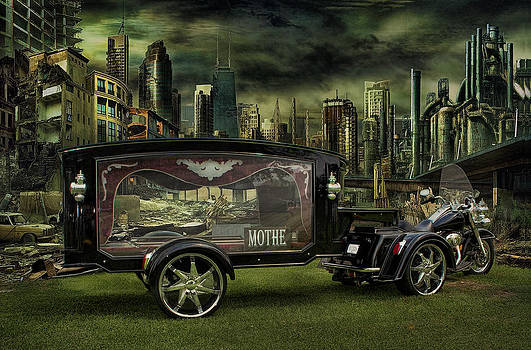 I Ride In Loving Memory Of You by Rat Rod Studios