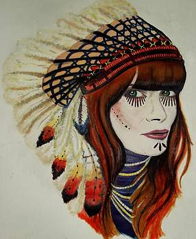 I wish i was an indian by Laura Seed