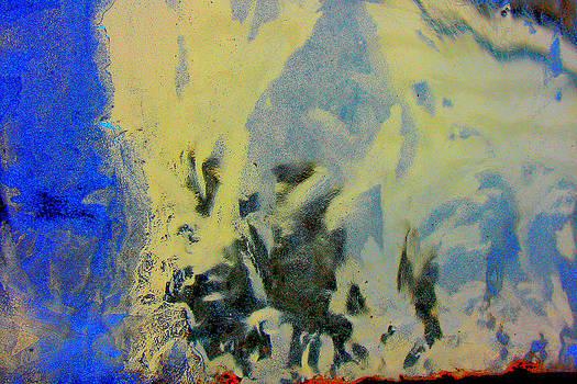 Ice Abstract I by Devon Stewart