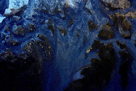 Ice Abstract IV by Devon Stewart