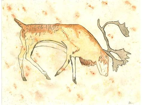 Ice Age Stag by David Crowell