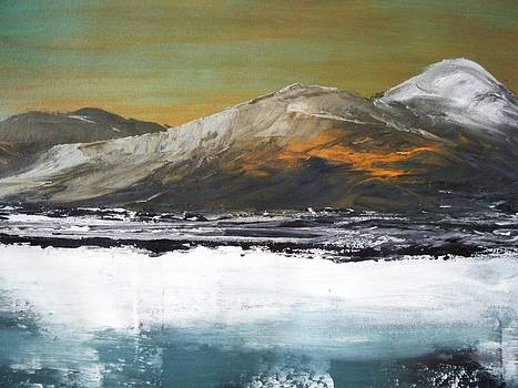 Ice and Mountains by Maximo Pizarro