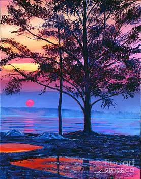 David Lloyd Glover - Ice Blue Lake