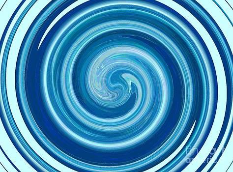 Ice Spirale - Francoise Leandre by Francoise Leandre