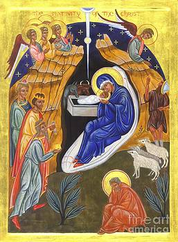 Icon of The Nativity of the Christ by Juliet Venter Icons Illuminations