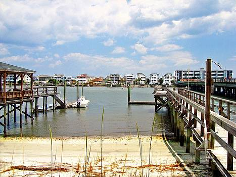 ICW Wrightsville Beach  by Joan Meyland