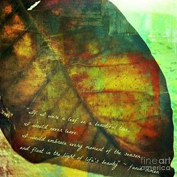 If I Were a Leaf by Fania Simon