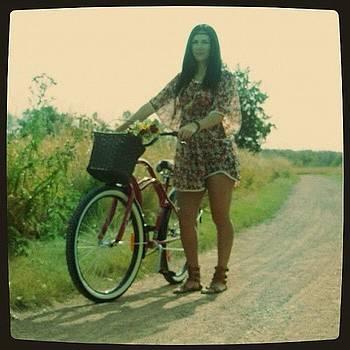 Igualita A Mi Mamá #vintage #bike by Ange Exile DuParadis