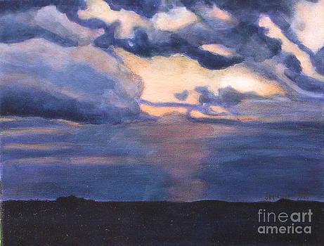Ilinois Sunset by Joan McGivney