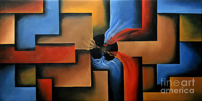 Illusion of Depth 12 by Uma Devi