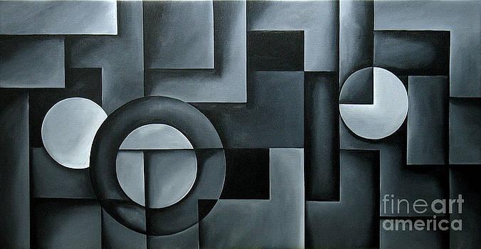 Illusion of Depth 14 by Uma Devi