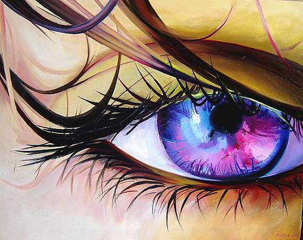I'm watching you by Nelya Shenklyarska