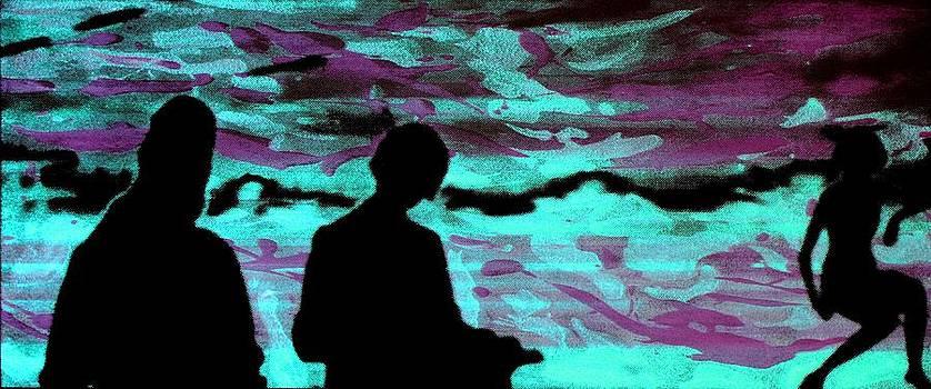 Arte Venezia - Imaginary landscape - Fluorescence serigraphy