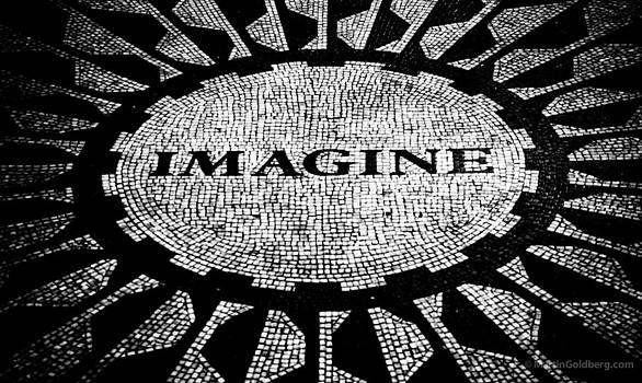Imagine all  by Martin Goldberg