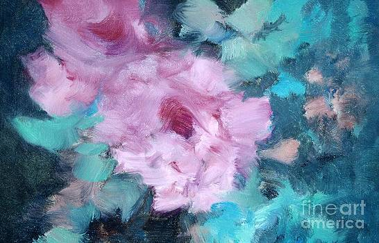 Impression Of Roses by Judy Groves